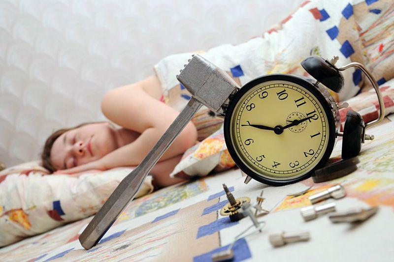 Как просыпаться вовремя?