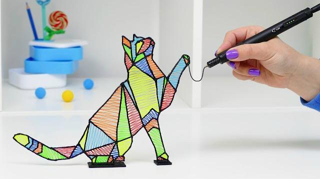 3D- ручка: что это и как работает?