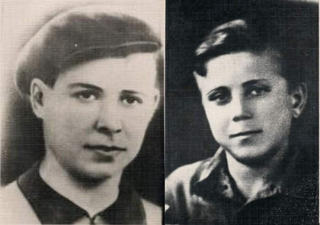 Героические дети: Шура Кобер и Витя Хоменко