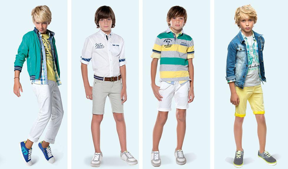 Модные шорты для мальчиков