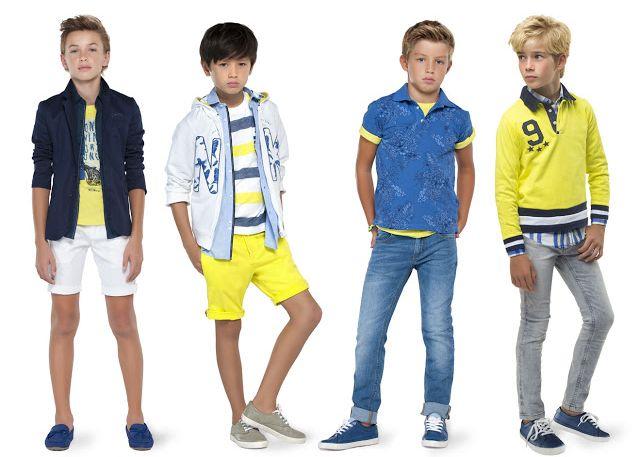 Мода для мальчиков: весна-лето 2019