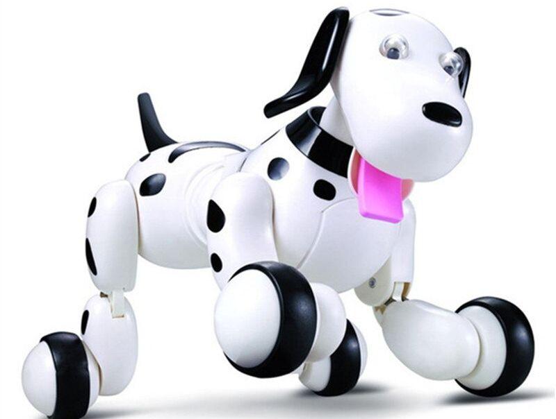 Робот smart-dog  с дистанционным управлением